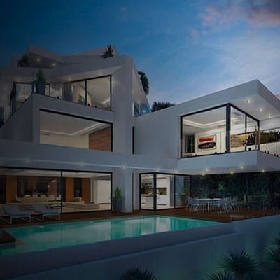 Malta real estate cover image: Modern architecture apartment.