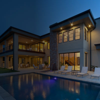 Cyprus real estate cover image: Modern duplex villa with swimming pool.