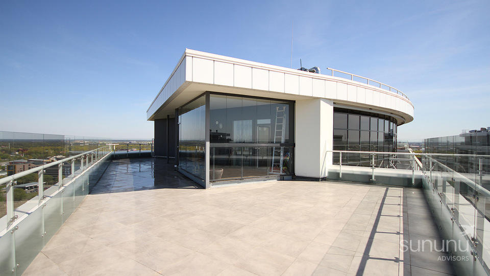 24th floor penthouse with terraces