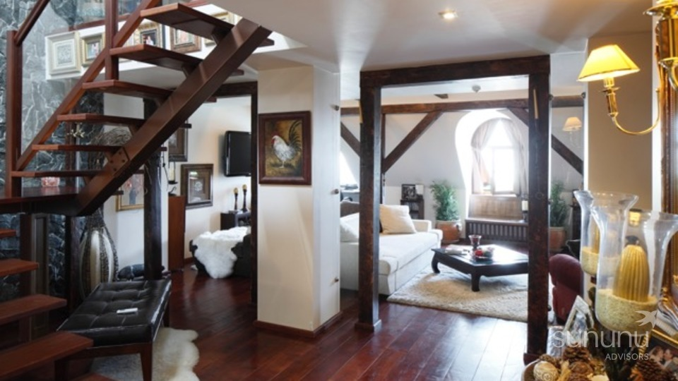 Loft apartment with style and charm