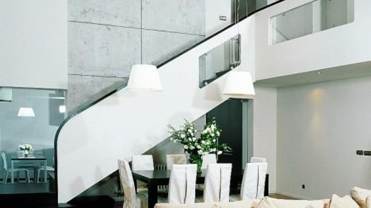 Four-bedroom duplex penthouse in Riga
