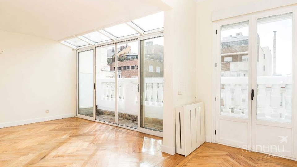 penthouse apartment for sale botanical garden Madrid