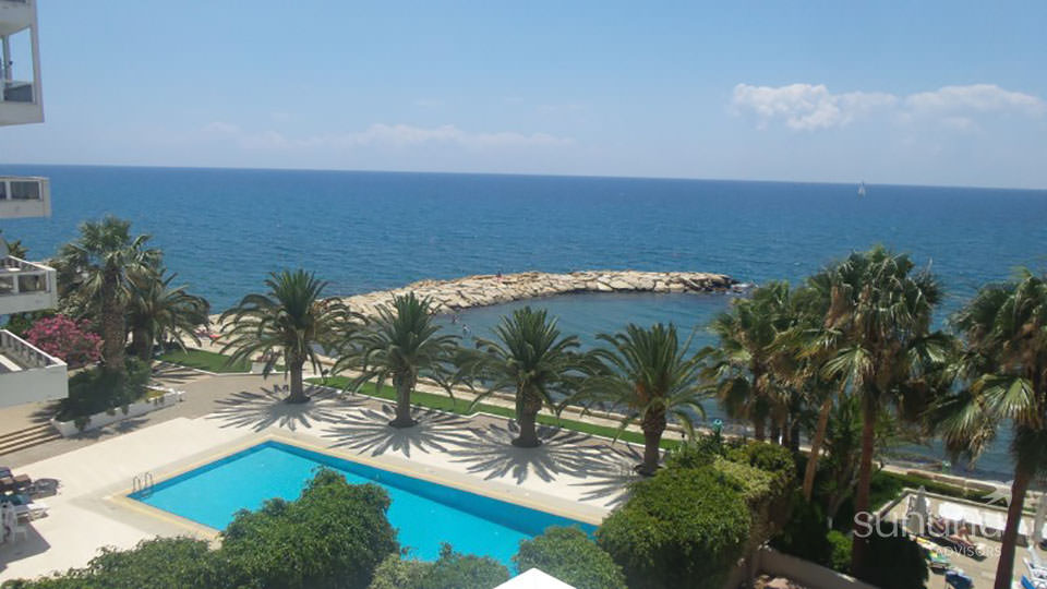 Fantastic beachfront setting of contemporary apartment in Limassol