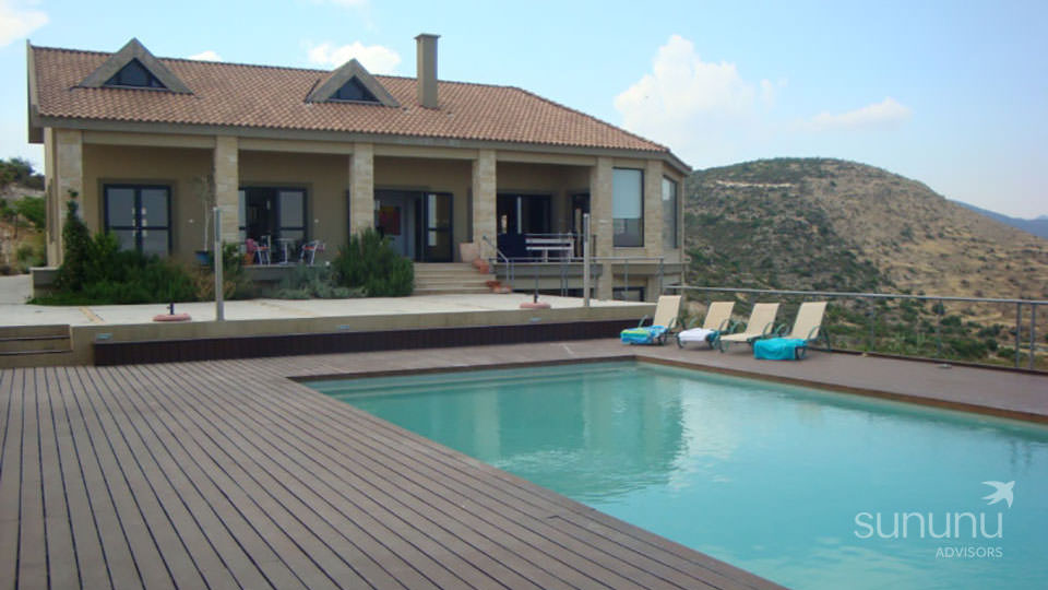 Lovely Mediterranean villa in Limassol with sprawling grounds and a swimming pool