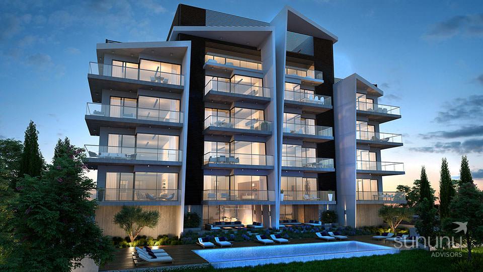 Modern apartment in Limassol enjoys a prime location