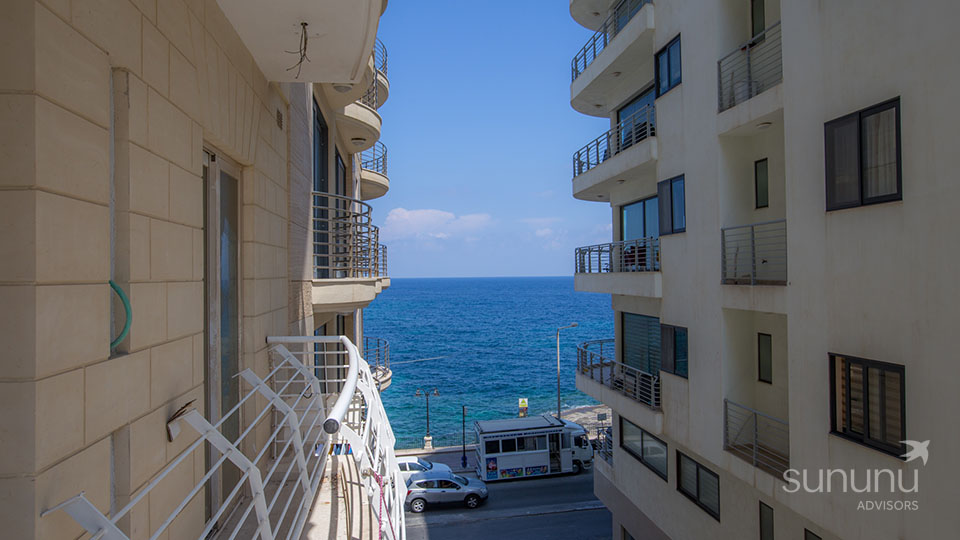 New apartment in Sliema with a fantastic seafront